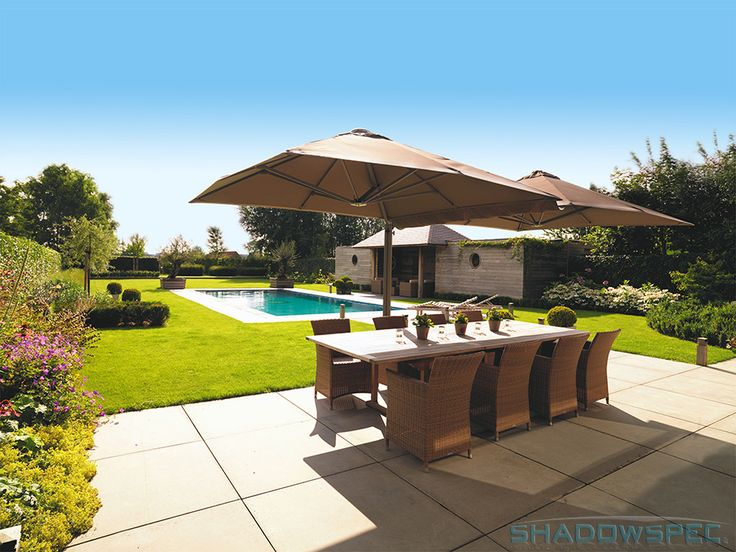 SHADOWSPEC – Global Suppliers of  Luxury Outdoor Umbrella Systems   Swimming pool umbrellas provide a cool, shady retreat where your children and guests can rest and relax when not in the pool.  Click below for more information: USA – www.shadowspec.com  AUST – www.shadowspec.com.au  NZ/Other – www.shadowspec.co.nz