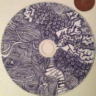CD cover drawing