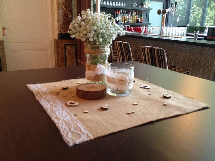 Bruiloft Sandra & Sietse - Prachtige Plannen | Weddings & Events #burlap #lace #kant #jute #hout