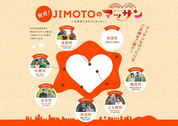 NHK北海道 I LOVE JIMOTO北海道×マッサン WEB - エイプリル