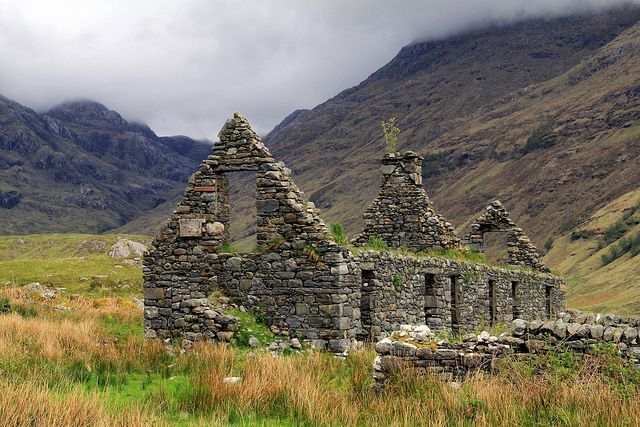 The Scottish Highlands are among the most beautiful places on Earth. But this is nevertheless a tough landscape, punctuated by abandoned crofts, farms and cottages, that has endured through centuries of hardship.