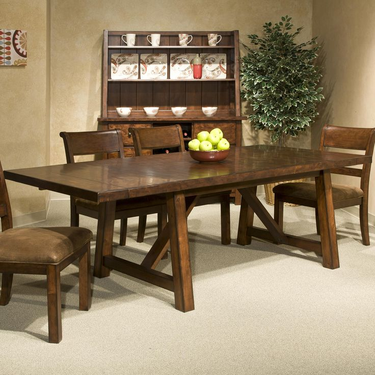 Bench Creek Dining Table By Intercon