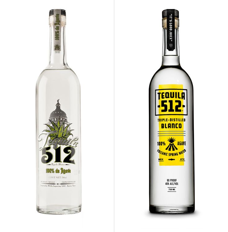 Brand New: New Logo and Packaging for Tequila 512 by The Butler Bros