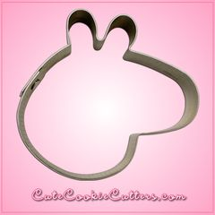 "Oink! Oink! People will be tempted to pig out on your cute cookies that you've made with the Mini Cartoon Pig Head Cookie Cutter. These cutters measure 2"" tall, 1.75"" wide and made from stainless stee"