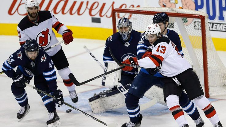 Canadian news headlines      (adsbygoogle = window.adsbygoogle || []).push();    A little chat between players on the Winnipeg Jets' fourth line paid off in a big way Saturday. The new line of centre Matt Hendricks with Mathieu Perreault and Joel Armia accounted for two goals as the... #Weather #videos
