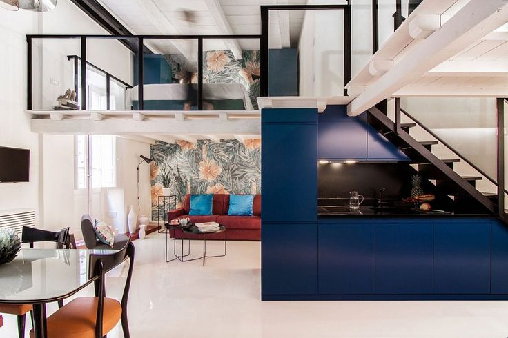 Space-Savvy Italian Home Delights with a Nifty Mezzanine Level Bedroom