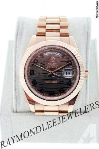 Rolex Rose Gold Day-Date II 218235 Gents Watch