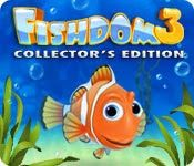 Fishdom 3 Collector's Edition Game Review: Fishdom is a puzzle video game developed and published by Playrix Entertainment in the month of October, 2012. There're eighteen fun 3D fishes, each consist own personality in game. Player is required to feed them, and play with them and watch them interact with each other.