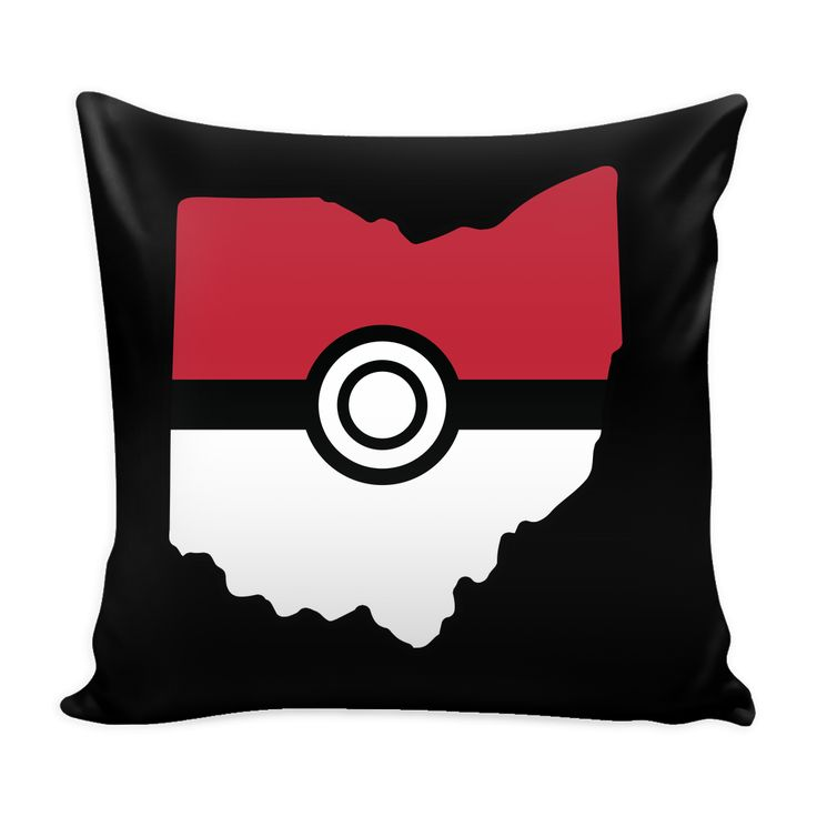 """Pokemon USA American State Pillow Cover 16"""" - TL00623PL"""