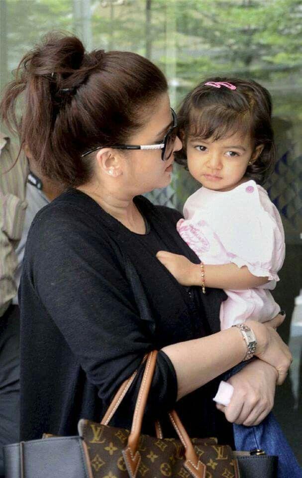Beautiful Two Aishwarya Rai Daughter #Aaradhya <3
