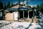A great website about making your own solar power system for your home. It has a lot of simulators for figuring out how many panels and batteries you need for your power usage.
