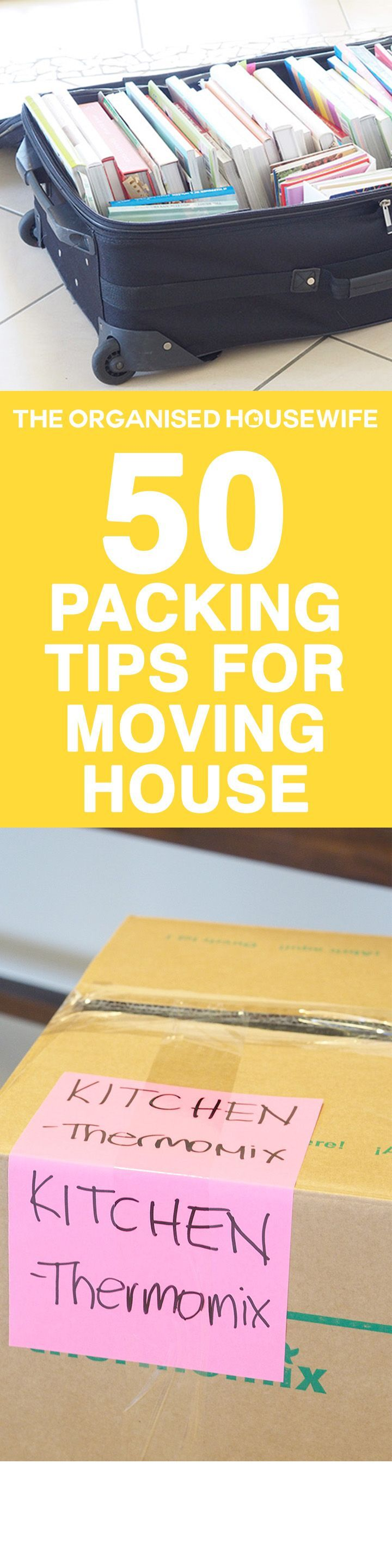 Loads of packing and moving tips to help make moving home easier, save time and…