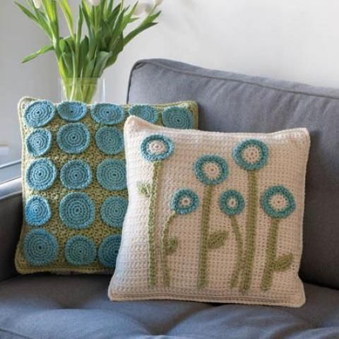 crochet pillows -