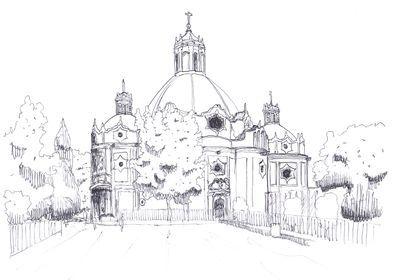 Capilla del Pocito- Villa Guadalupe, Ciudad de México - Javiera Fernández - Casiopea