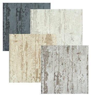 Vlies Tapete Beton Muster kieselgrau, beige Elements stein Mauer shabby