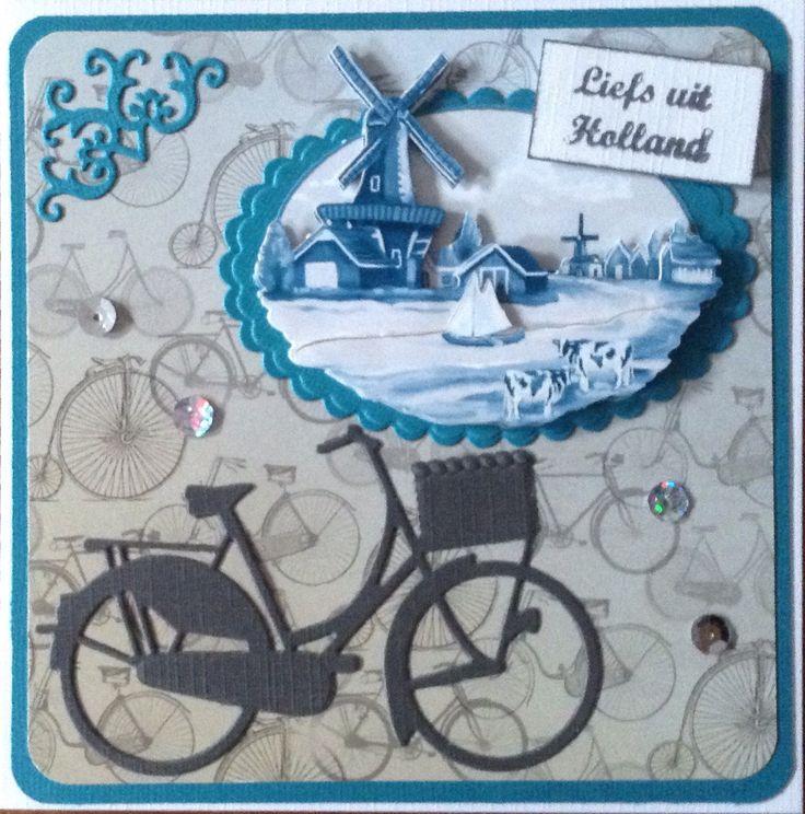 """""""Liefs uit Holland"""" met fiets en echt Nederlands landschap naar Malaysie"""