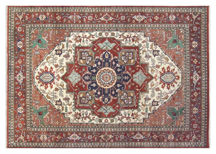 New Oriental Rugs For Sale Hand Knotted Rug 9' X 12' Astoundingly Serapi Design