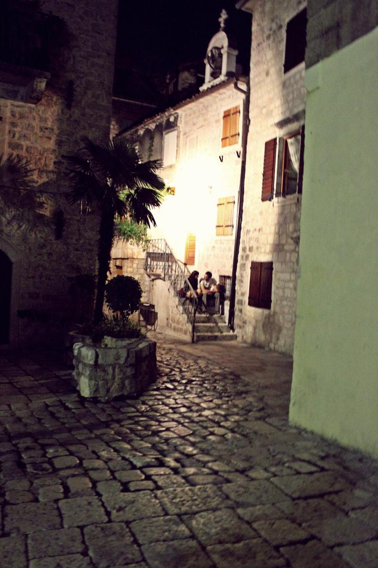 Kotor by night