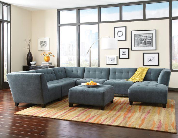Rambler 6 Piece Modular Sectional. 341 best HOM Furniture images on Pinterest   Minneapolis minnesota