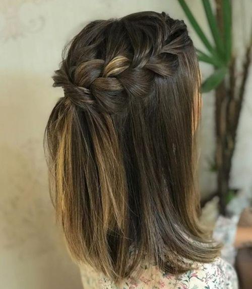 40+ Braids Hochzeitsfrisuren für kurzes Haar - #braids #hochzeitsfrisuren #kurzes - #frisuren
