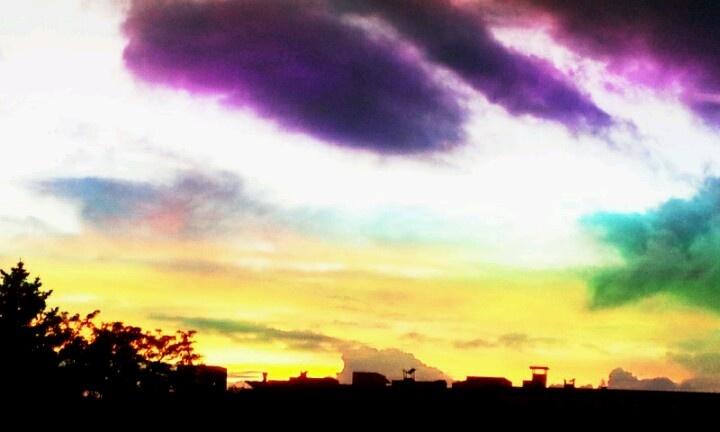 rainbow Sky change