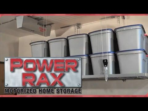 Powerrax Motorized Garage Overhead Storage Powerrax