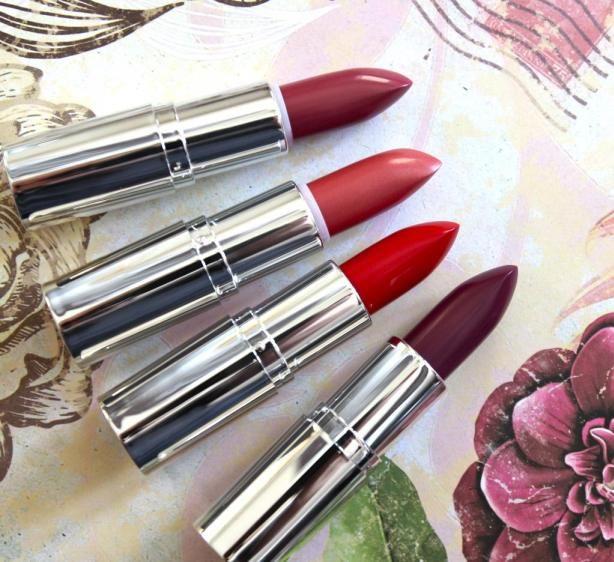 The Body Shop Colour Crush Lipsticks review