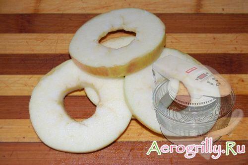 Сушка яблок в аэрогриле