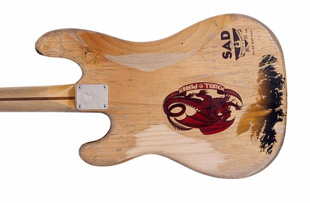 Jon Willis Billy Sheehan Wife Bass Replica body back