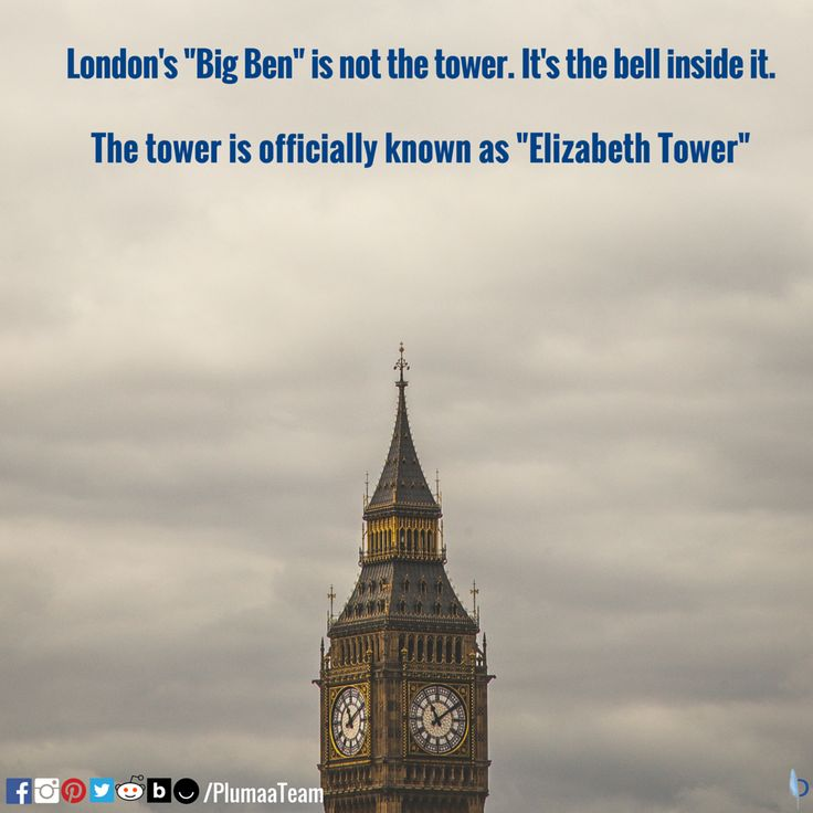 #Travel #London #UK #BigBen #TravelFanatic #Plumaa #WhatsYourPassion  SOURCE: http://www.factslides.com/s-Big-Ben