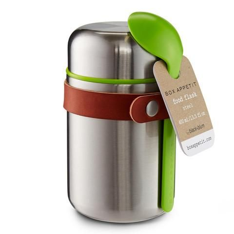 Food Flask, designed by Black+Blum. High quality stainless steel food thermos…