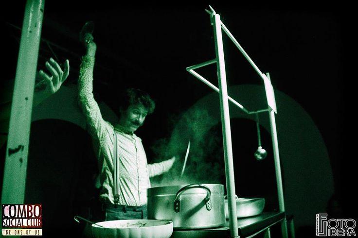La. @ Resistenza GastroFonica Viaggiante Night | #cucinaproletaria #cibo #strada #emancipazione #cucina #ilproletariodietroaifornelli #musica #streetfood #coltivatoridimusica #cibodastrada #resistenzagastrofonica