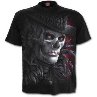 Les hommes gothic | Achat T-shirt homme gothique avec personnages maquillés style macabre ...