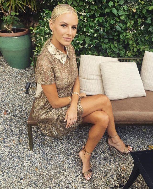 Morgan Stewart in Valentino