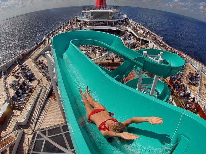 Making A Splash: The Most Amazing Water Slides At Sea