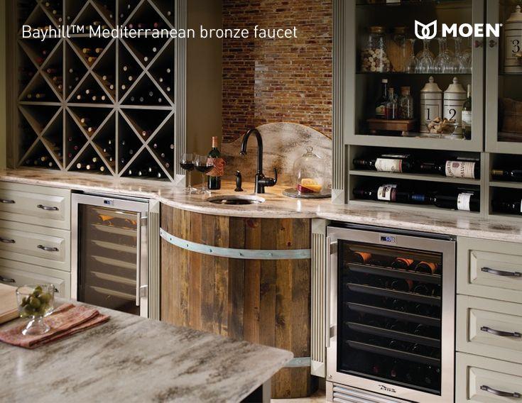 #Wine lover's kitchen #DIY
