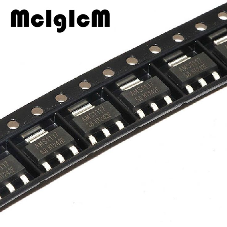3$  Watch more here - Free shipping 100pcs AMS1117-5.0 SOT-223 5V Linear Regulator LM1117   #aliexpress
