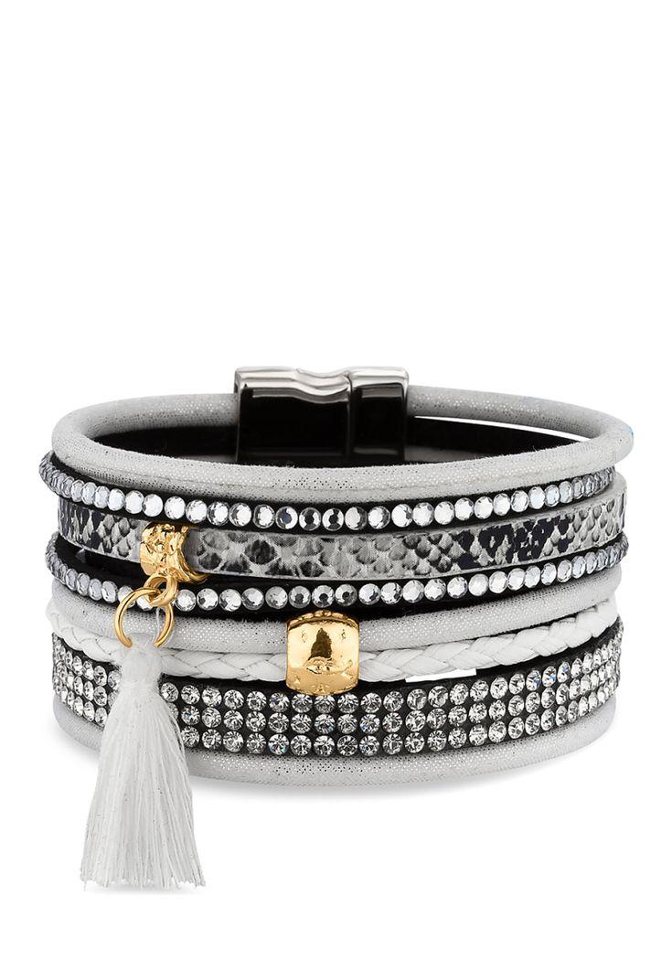 Diamond Style Armband, Swarowski® crystals silber Jetzt bestellen unter: https://mode.ladendirekt.de/damen/schmuck/armbaender/silberarmbaender/?uid=f1f8d248-6b30-5b09-951e-971e3f32390a&utm_source=pinterest&utm_medium=pin&utm_campaign=boards #schmuck #silberarmbaender #armbaender #bekleidung Bild Quelle: brands4friends.de
