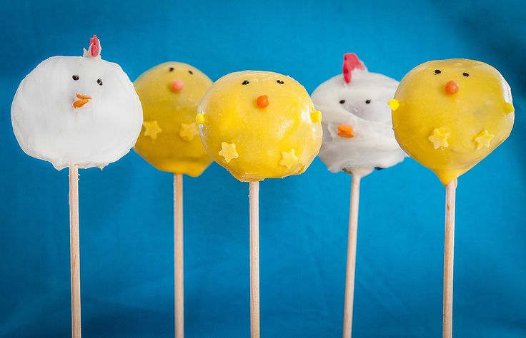 """Cake pops """"basse-cour"""""""
