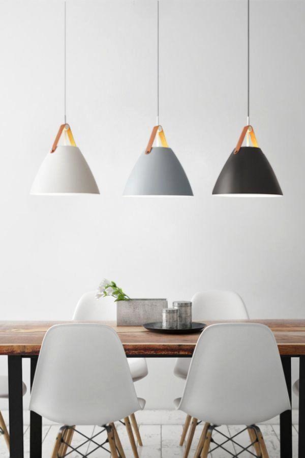 Dining Room Hanging Lamps Unique Modern Pendant Lighting Led Nordic Modern Hanging Lights In Di 2020 Ide Dekorasi Rumah Modern Interior