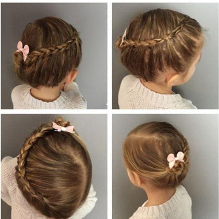 Peinados para niñas con recogidos y trenzas sencillas. Imágenes para descargar | Hoy imágenes