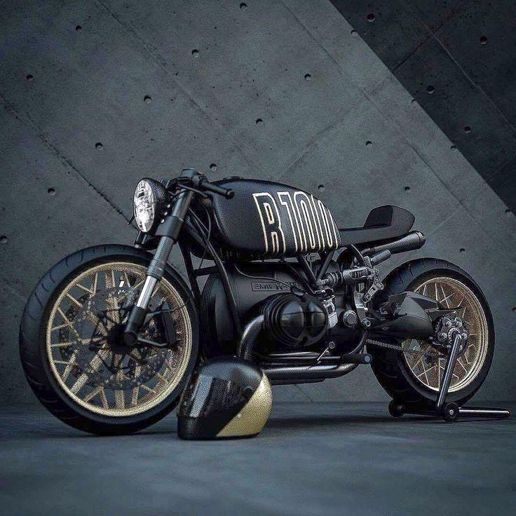 Ziggy Motors R100 – # Motorrad Damen # Motorrad Damen Feld # Motorrad Damen Schu