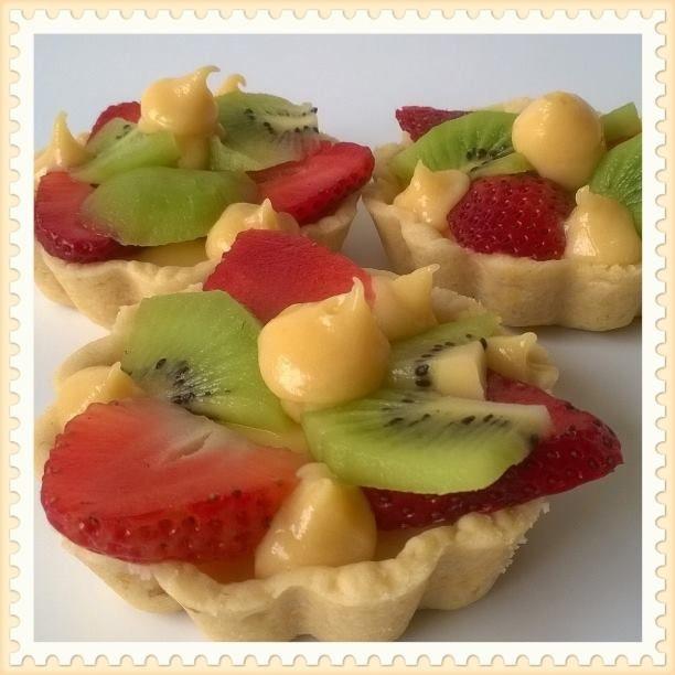 Tartaleta con frutas frescas