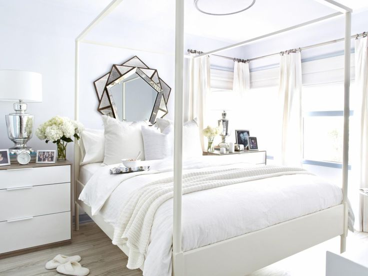 The Use Of Cool, Light Colors In A Small Bedroom Has The Potential To Make