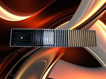 Конвекторы встраиваемые в пол бриз  Конвекторы Бриз В (с тангенциальными вентиляторами) Артикул: нет Приборы могут быть выполнены в угловом и радиусном исполнении. Для влажных условий эксплуатации внутрипольные конвекторы выпускаются в корпусе из нержавеющей стали, с организованным выходом для влаги и конденсата.