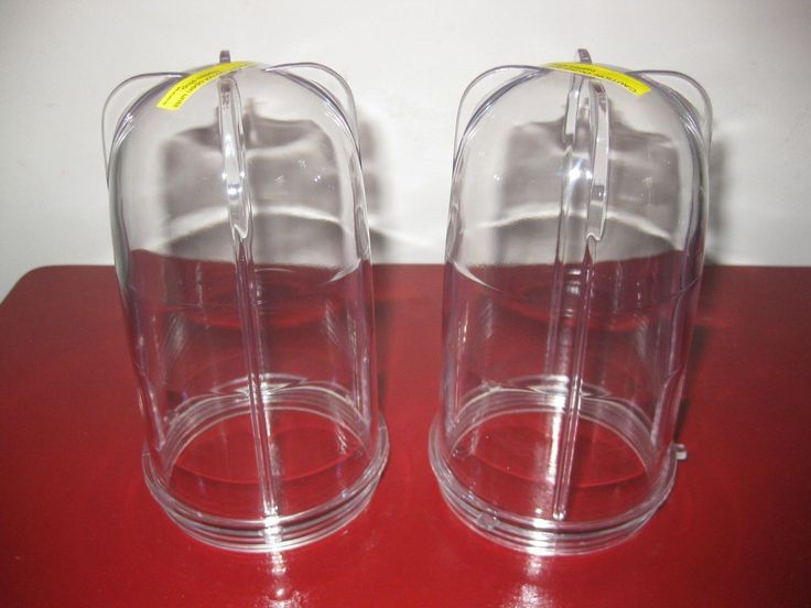 Magic Bullet 2 Tall Cups Brand  Genuine Parts No Wait! Free Shipping!
