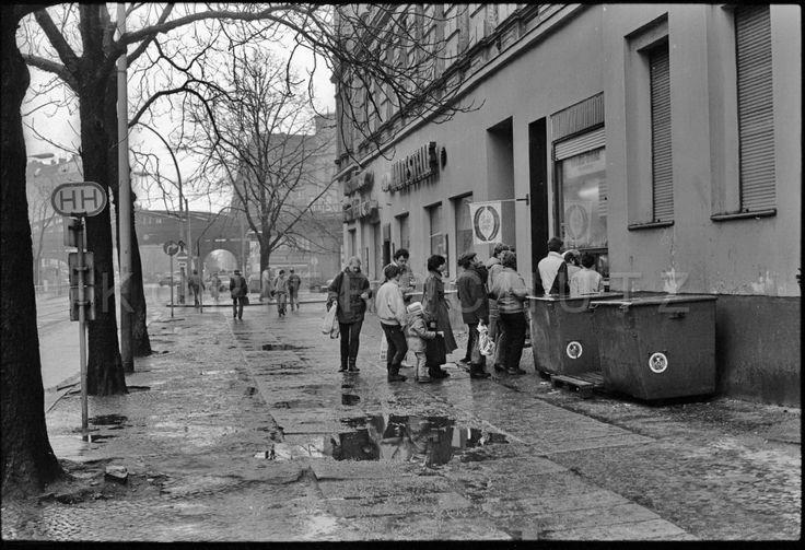 Berlin, Prenzlauer-Berg, Kastanienallee 1987, Foto - Gerd Danigel - Fotograf aus Berlin