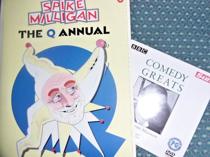 Spike Milligan The Q Annual - Penguin Adult Fiction books Used