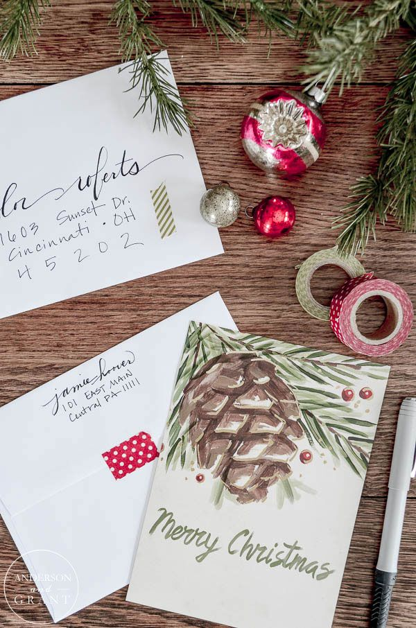 anderson + grant: Making Your Christmas Cards Special