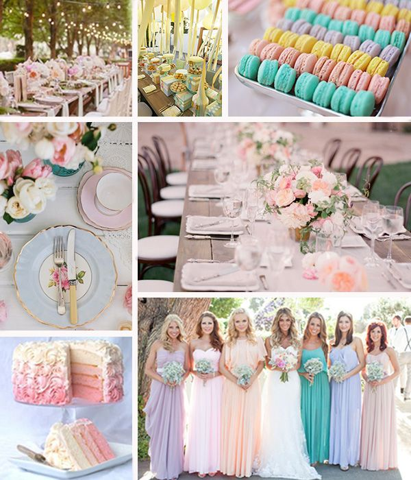 Pastel Blue Wedding Theme: 25+ Best Ideas About Pastel Wedding Colors On Pinterest